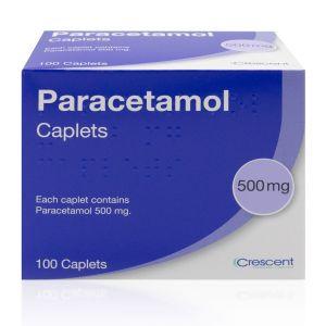 Paracetamol 500mg x 100 Tablets