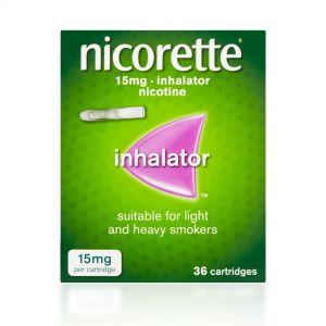 Nicorette 15mg Inhalator – 36 Cartridges