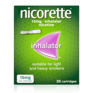 Nicorette Inhalator 15mg - 20 Cartridges