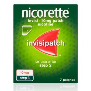 Nicorette Invisi 10mg (Step 3) – 7 Patches