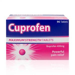 Cuprofen Maximum Strength 400mg - 96 Tablets