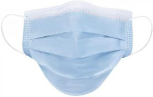 Disposable Civilian Protective Type 1 Face Masks 3 Ply - 500