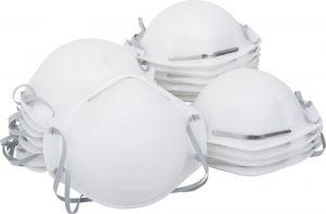 FFP2 Moulded Breathable Face Mask - 10 Pack