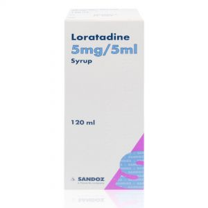 Loratadine Hay Fever Relief 5mg/5ml Syrup – 100ml