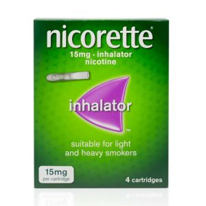Nicorette 15mg Inhalator – 4 Cartridges