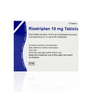 Rizatriptan (Generic Maxalt)