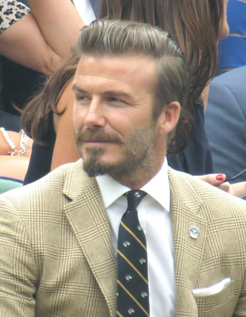 David Beckham speaks about anxiety