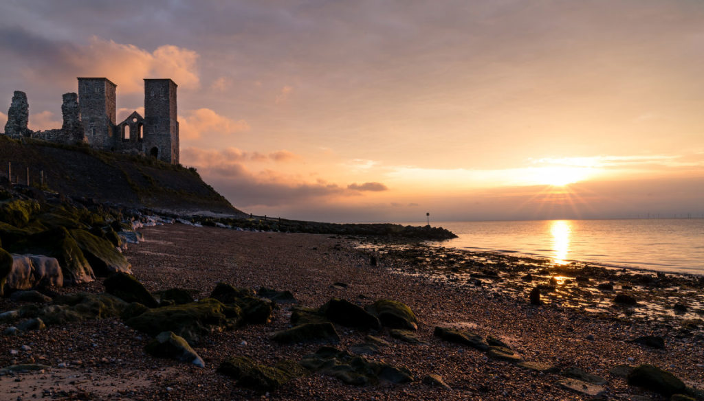 Walking holidays UK Reculver