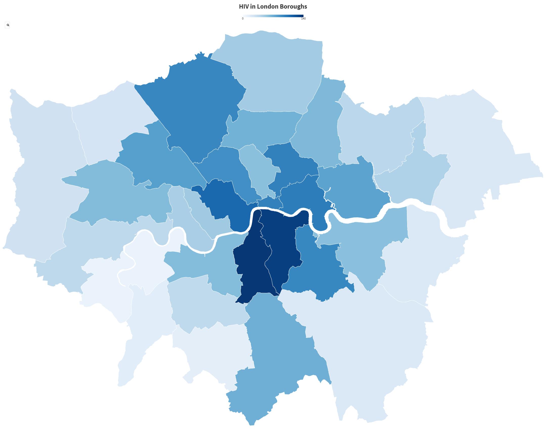 HIV Statistics London