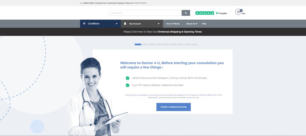 Doctor-4-U consultation