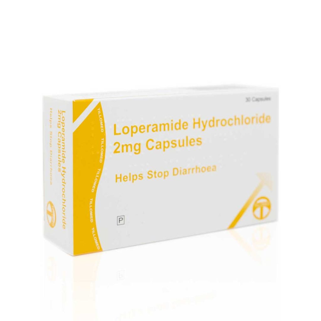 loperamide for diarrhoea
