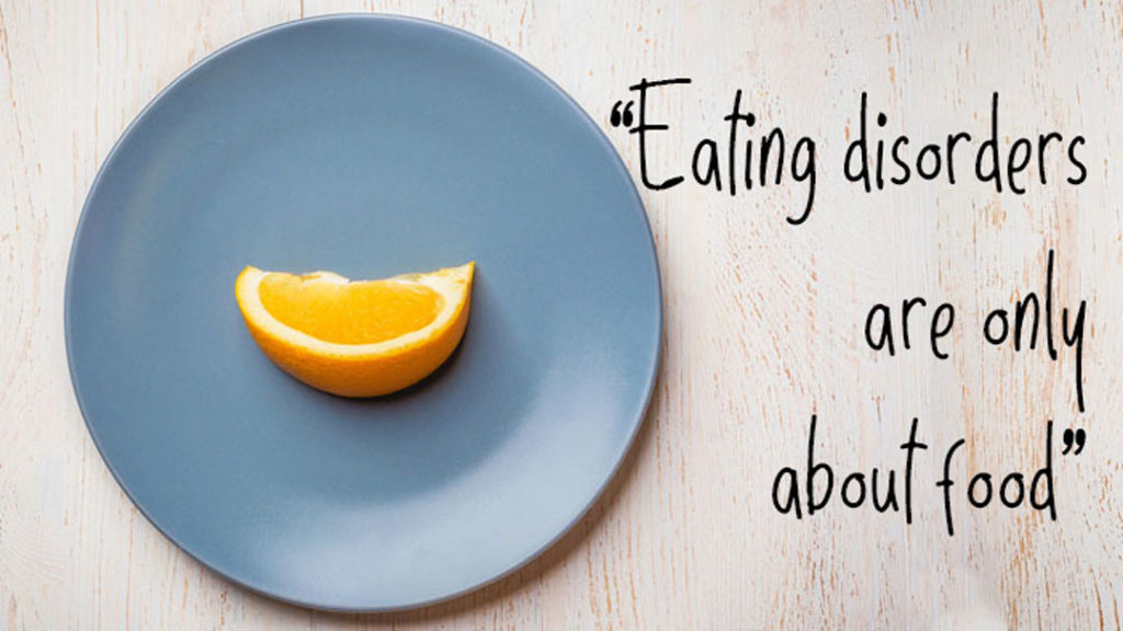 myths about eating disorders
