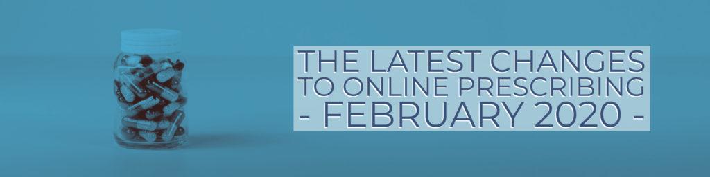 changes to online prescribing
